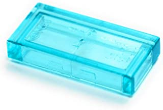 lego transparent light blue