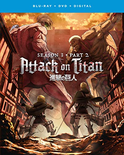 Attack on Titan: Season 3 - Part 2 Blu-ray + DVD + Digital - BD Combo Pack