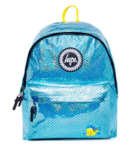 Hype Backpacks Disney The Little Mermaid Flounder Scale Backpack Blue