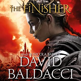 The Finisher                   By:                                                                                                                                 David Baldacci                               Narrated by:                                                                                                                                 Nicola Barber                      Length: 14 hrs and 56 mins     67 ratings     Overall 4.0