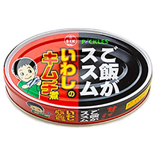 信田缶詰 ご飯がススム いわしのキムチ煮 100g缶×24個入×(2ケース)