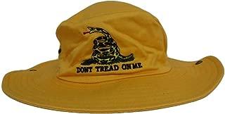 Mens Hats Yellow Gadsden Tea Party Dont Tread on Me Bucket Hat Cap NRA Trump Baseball Cap
