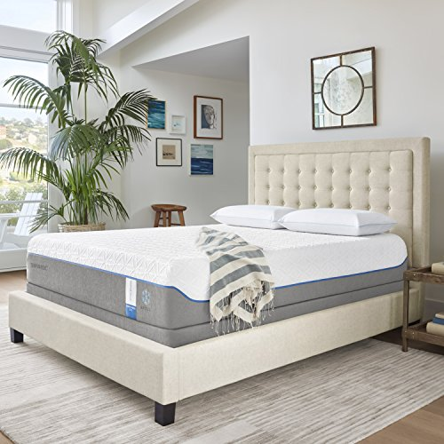 Tempur-Pedic TEMPUR-Cloud Supreme Breeze 11.5-Inch Soft Cooling Foam Mattress, King, Made in...