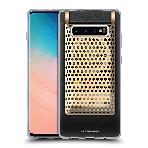 Head Case Designs Officially Licensed Star Trek Communicator Closed Gadgets Soft Gel Case Compatible with Samsung Galaxy S10+ / S10 Plus