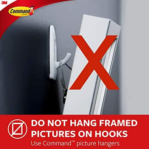 Command Medium Utility Hooks Value Pack 6 Hooks 12 Command Adhesive Strips