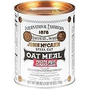 McCann's Irish Oatmeal, Traditional Steel Cut, 28 Ounce (Pack of 12)