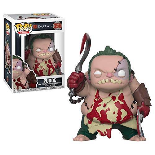 Funko- Figurines Pop Vinyl: Games: Dota 2: Pudge, 30627, Multicolore