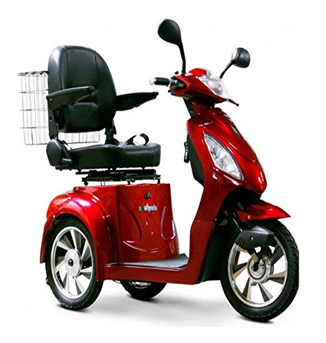 Buy Bargain EW36 MOBILITY SCOOTER, FAST POWER ELECTRIC POWER SCOOTER EW36 - RED COLOR