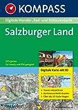 Landkarte Salzburger Land.
