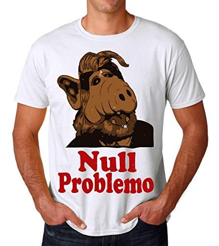 Null Problemo Alf Melmac Men's T-Shirt Herren Tshirt X-Large
