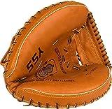 Schreuders Sport Unisex's 23HF Senior Left-Handed Catcher Baseball Glove, Light Brown, One Size