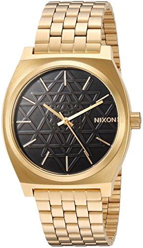NIXON Herren Analog Japanisch Quarz Uhr mit Edelstahl Armband A0452478-00
