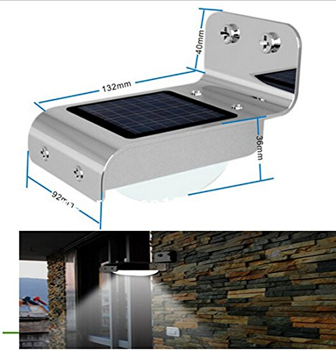 Best to Buy 3-pack 16 Bright LED Wireless Solar Powered Motion Sensor Light (Weatherproof, no batteries required) Solar Panel DIY Lighting Kit, Solar Home System Kit, Portable Solar Charger with LED Light Bulb Flashlight as Emergency Light/ Garage Cabin RV Wireless Lighting System/ Camping Trekking Search & Rescue Remote Lighting Kit