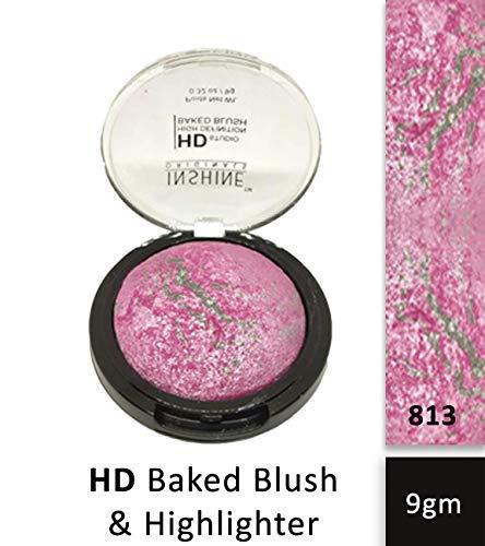INSHINE HD Studio High Definition Baked Blush, 813, 9gm