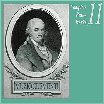 Muzio Clementi: Complete Piano Works, Vol. 11