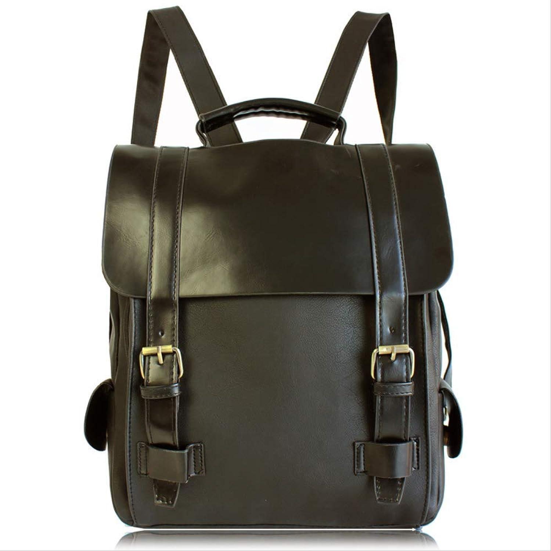 BJYG Leder Rucksack Damen Damen Rucksack Mode Ruckscke Schultasche Lssige Reisetasche Daypack Schulruckscke