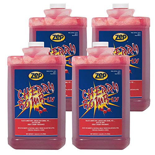 Zep Cherry Bomb LV Hand Cleaner 329124 128 Ounce (Case of 4) - Available for all 50 States!