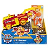 Exclusive Paw Patrol Flip & Fly Marshall Mighty Pups Firetruck