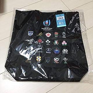 RWC 2019 ラグビーワールドカップ トートバッグ商品 公式オフィシャルグッズ 日本代表 オールブラックス ブラック JC206