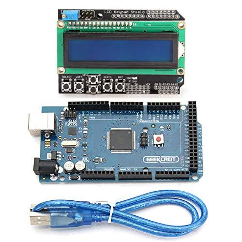 DIBAO 2560 R3 Development Board 2560 Con LCD 1602 Keypad Shield - productos que funcionan con placas prescritas