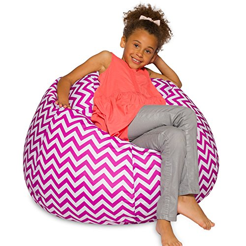 Posh Creations Bean Bag Chair for Kids, Teens, and Adults Includes Removable and Machine Washable...