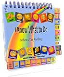 Thought-Spot I Know What to Do Feeling/Moods Book & Poster; Different Moods/Emotions; Autism; ADHD; Helps Kids Identify Feelings and Make Positive Choices; Laminated (FLIPBOOK)