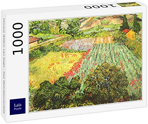 Lais Puzzle Vincent Willem Van Gogh - Il Campo di Papaveri 1000 Pezzi