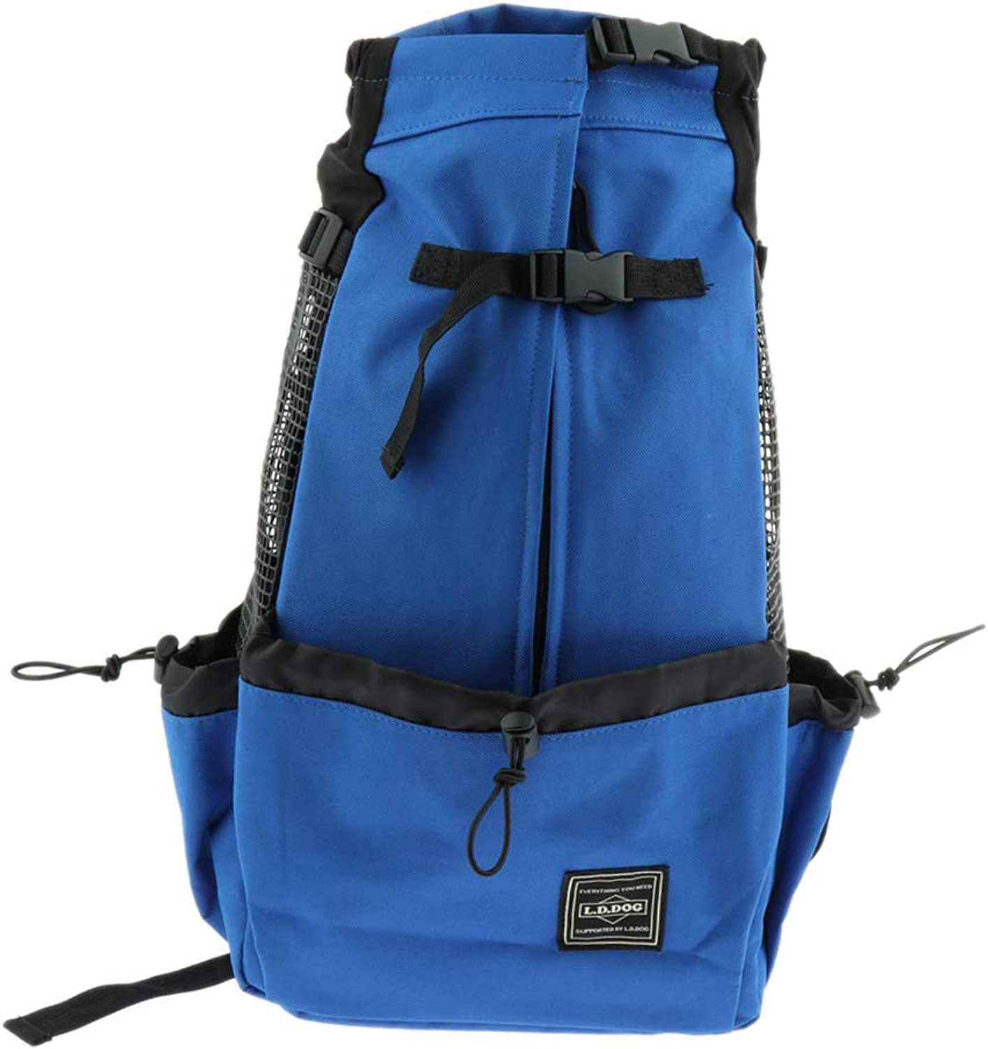 Baosity Pet Carrier Backpack for Small Cats Dogs Outdoor Travel Carrier for Walk, Hiking, Cycling  bluee M