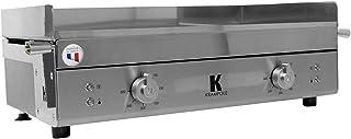 Krampouz - gecih2ao - Plancha 'lectrique inox 2x1800w 65x40cm k