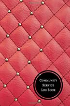 Community Service Log Book: Volunteer Log