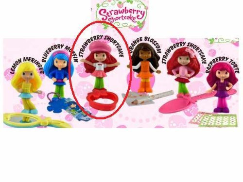 McDonalds Happy Meal Strawberry Shortcake Doll w/Baking Tool, Cookie Cutter 2010 #1