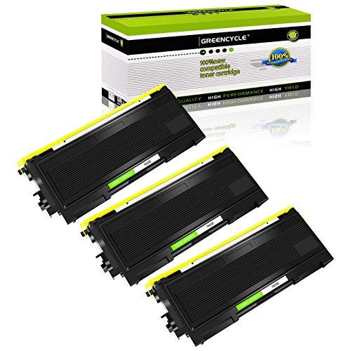 GREENCYCLE 3 PK TN350 TN-350 Toner Cartridges Compatible for Brother HL-2040 HL-2070N HL-2030 HL-2030R