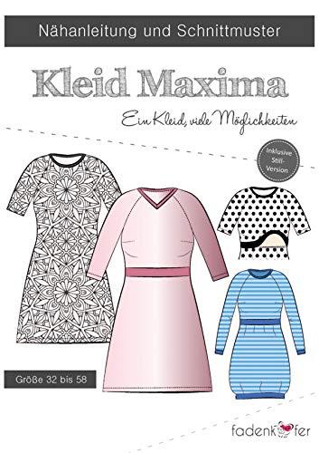 Knippatroon en naai-instructies - dames jurk - Maxima