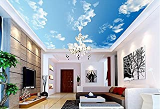 """3D White Clouds Sky 449 Ceiling Wall Paper Wall Print Decal Wall Deco 