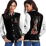 Hellboy Plush Sport Coat Womens Sport Coatmedium Black