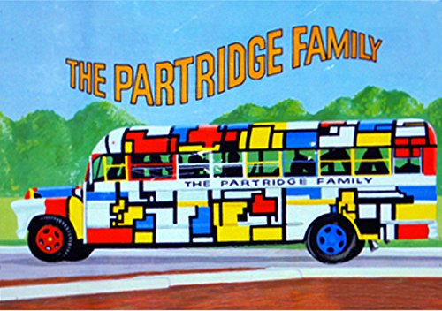 "THE PARTRIDGE FAMILY LUNCHBOX VINTAGE ART 2"" x 3"" Fridge MAGNET Refrigerator lunch box nostalgic retro"