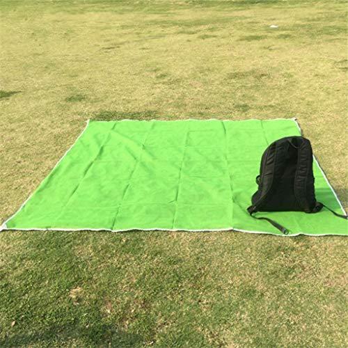 TALENT 150 x 200 cm Stranddecke,magische Sandleckstrandmatte,wasserdichte und sandfreie Picknickdecke im Freien,Strand,Camping,Picknick,schnell trocknende Strandmatte zum Wandern (blau,grün,rot)