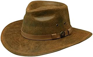 Outback Trading Co Men`s Co. Kodiak Leather Hat - 1356