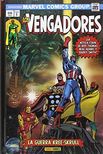 Los Vengadores 5. La Guerra Kree-Skrull (MARVEL OMNIBUS)