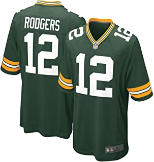 Youth Green Bay Packers #12 Aaron Rodgers Home Game Jersey - Greem