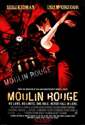 MOULIN ROUGE MOVIE POSTER PRINT APPROX MAAT 12X8 inch