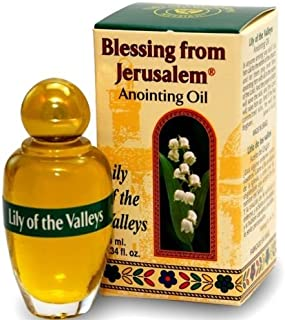 Anointing Oil with Biblical Spices from Jerusalem 0.34oz (10ml) (Lily of The Valley)