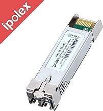 ipolex 10GBase-LR SFP+ Transceiver Module for Cisco SFP-10G-LR, Ubiquiti, D-Link, Supermicro, Netgear, Mikrotik (SMF, 1310nm, 10KM, LC)