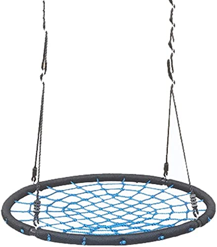 Mesh Runde Schaukel, Indoor Kind Outdoor Suspension Gras Spiel Schaukel Handgefertigte Mutige Seil Park Schule Unterhaltung Schaukel Durchmesser  1 Mt (Größe   100CM)