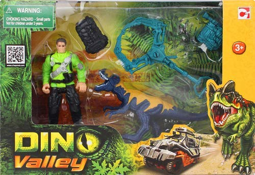 Fab Distributions 4893808200071 Dino Valley Dino Capture Spielset 2