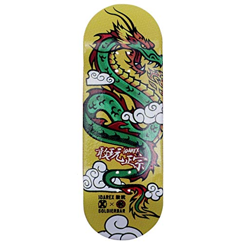 SOLDIER BAR Soldierbar 9.0 Fingerboards Deck (Fortune Loong)