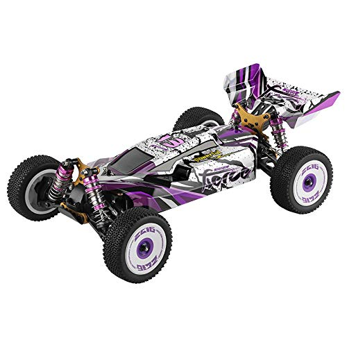 XK 124019 1:12 4WD RC Racing Car 2.4G Remote Control Car 550 Brushed Motor 100M Control Distance Electric Car for Childrens Gifts