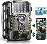 Dsoon WiFi Wildlife Camera 4K 32 MP Fotocamera da caccia con visione notturna 0.2s Fotocamera per fauna selvatica a 120 ° attivata dal movimento Impermeabile IP66