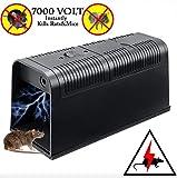 T-Raputa piège à Souris Professionnel -utilisé pour capturer des Souris intérieures et extérieures, des Rats, des Insectes nuisibles,contrôle des pièges electronique Professionnels pour Les rongeurs