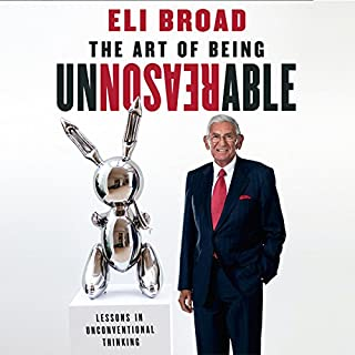 The Art of Being Unreasonable audiobook cover art